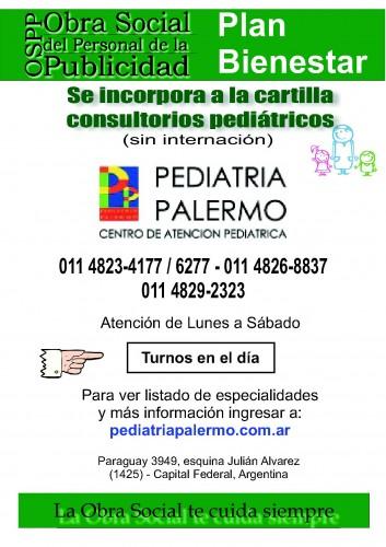 Incorporación Consultorios pediátricos