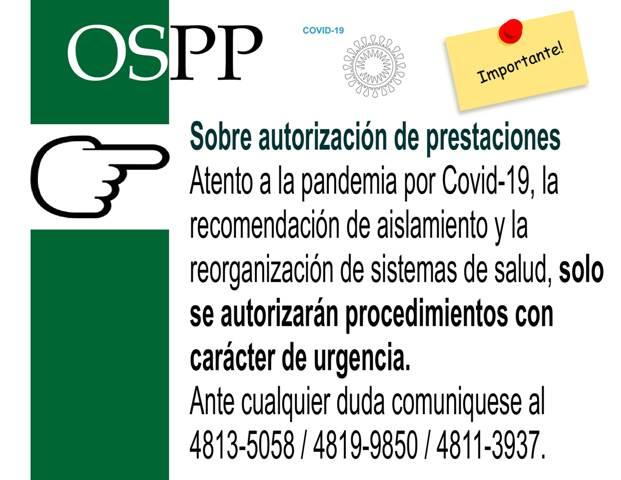 Autorizacion prestaciones Covid-19